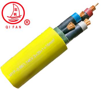 起帆MYP额定电压0.66/1.14KV及以下移动软电缆