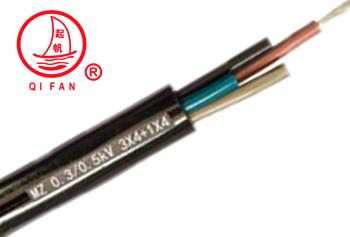 起帆MZP额定电压0.3/0.5KV煤矿用电钻电缆